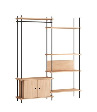 Moebe Moebe Shelving system S.200.2.G  (different colours)