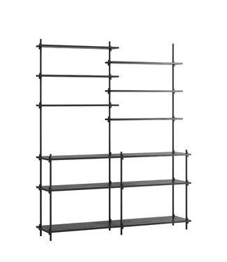 Moebe Moebe Shelving system S.200.2.D  (different colours)