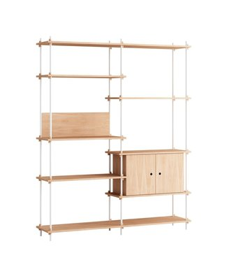 Moebe Moebe Shelving system S.200.2.C  (different colours)