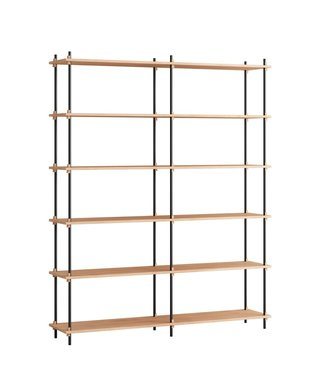 Moebe Moebe Shelving system S.200.2.B  (different colours)