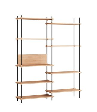 Moebe Moebe Shelving system S.200.2.A  (different colours)