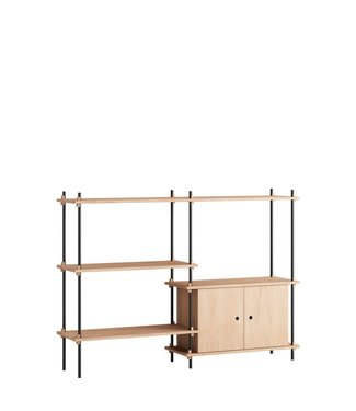 Moebe Moebe Shelving system S.115.2.C  (different colours)