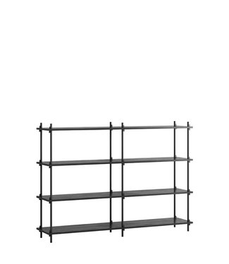 Moebe Moebe Shelving system S.115.2.B  (different colours)