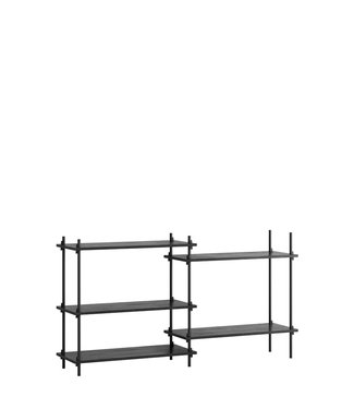 Moebe Moebe Shelving system S.85.2.A  (different colours)