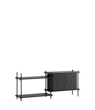 Moebe Moebe Shelving system S.65.2.C  (different colours)