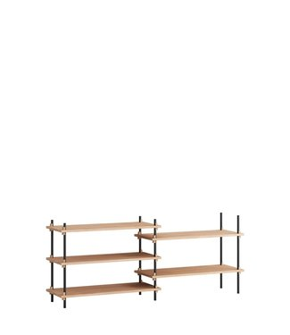 Moebe Moebe Shelving system S.65.2.A  (different colours)