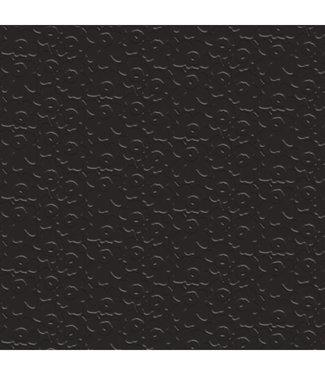 Marimekko Marimekko Unikko Papieren Servetten 33x33cm zwart reliëf