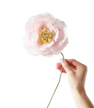Studio About Studio About Papieren bloem Papaver roze