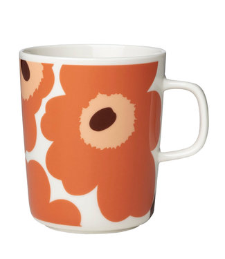 Marimekko Marimekko Unikko Cup 2,5dl orange / apricot / dark brown