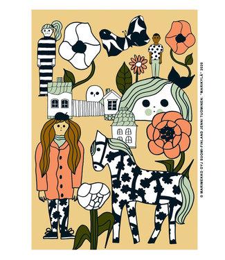 Marimekko Marimekko Marikylä art poster 50x70 cm