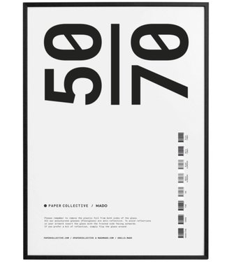 Paper Collective Paper Collective  50 x 70 cm frame black