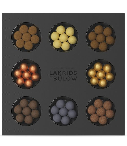 LAKRIDS BY BÜLOW - Selection box - 335g - Chocolate coated liquorice