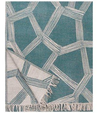 Lapuan Kankurit Lapuan Kankurit Puikko wool plaid 140x180 Green