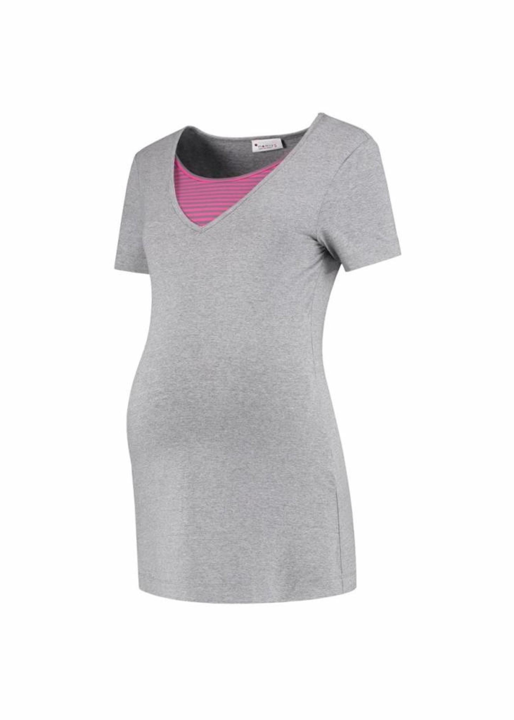 MAMSY Home Wear Shirt Grey