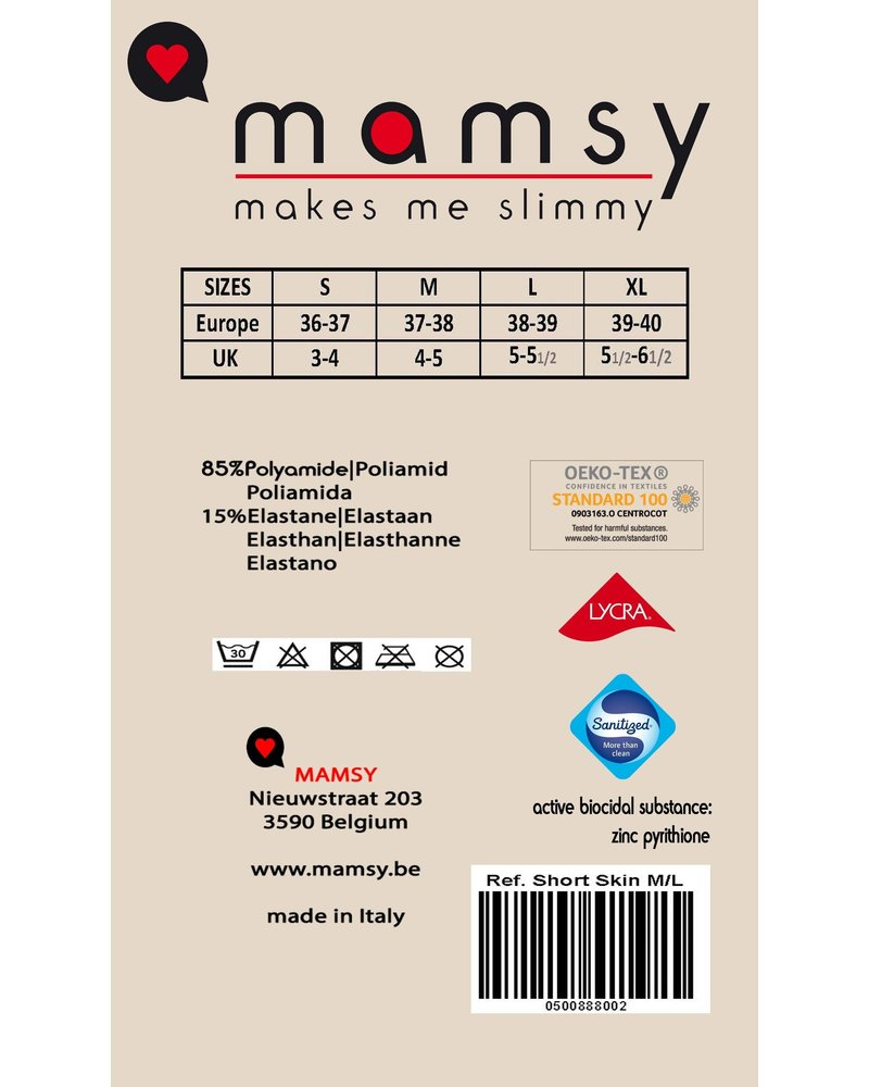 MAMSY Socks  Support Chamois