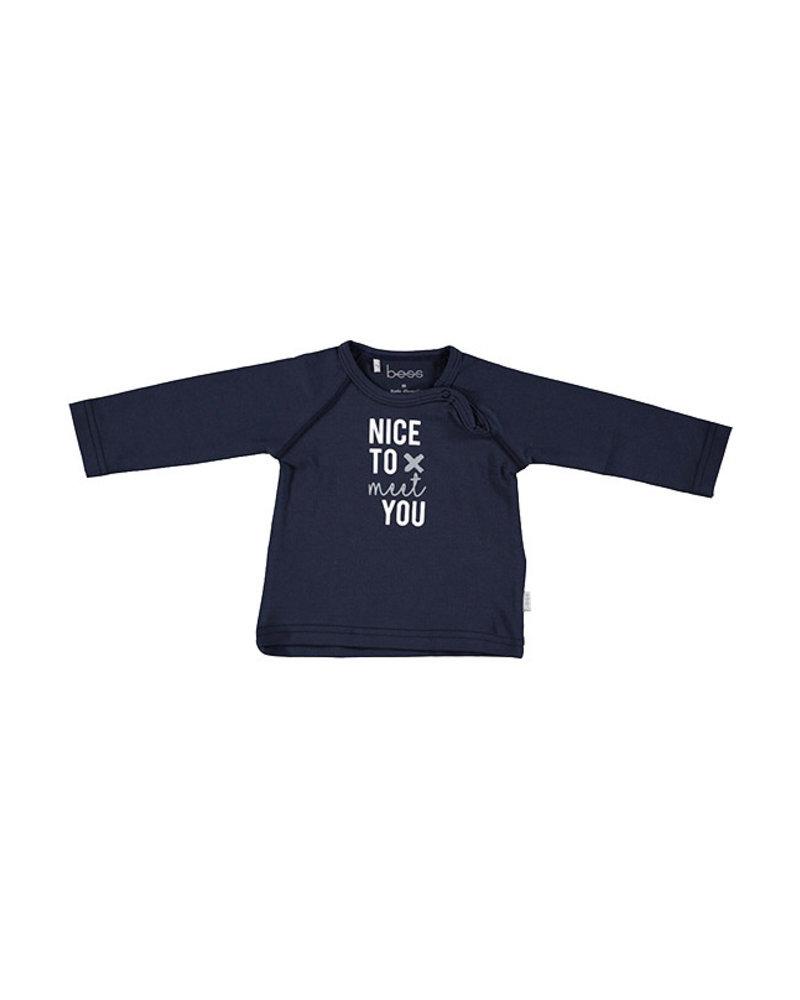 BESS Shirt l.sl Nice To Meet You