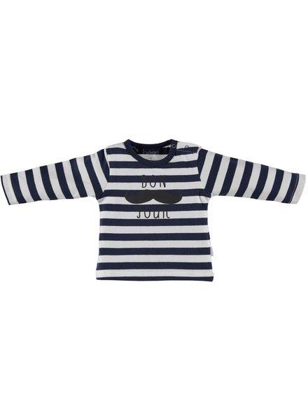 BESS Shirt l.sl. Boy Bonjour Striped