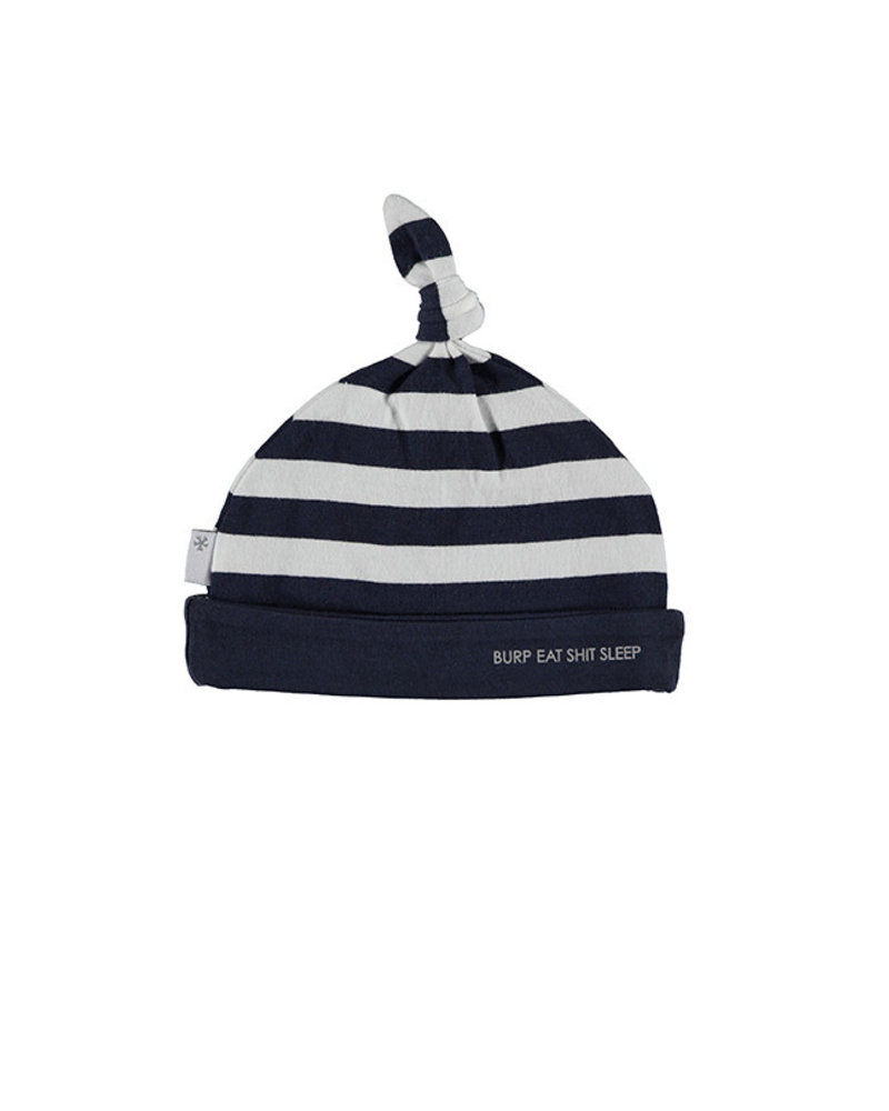 BESS Hat Striped Blue