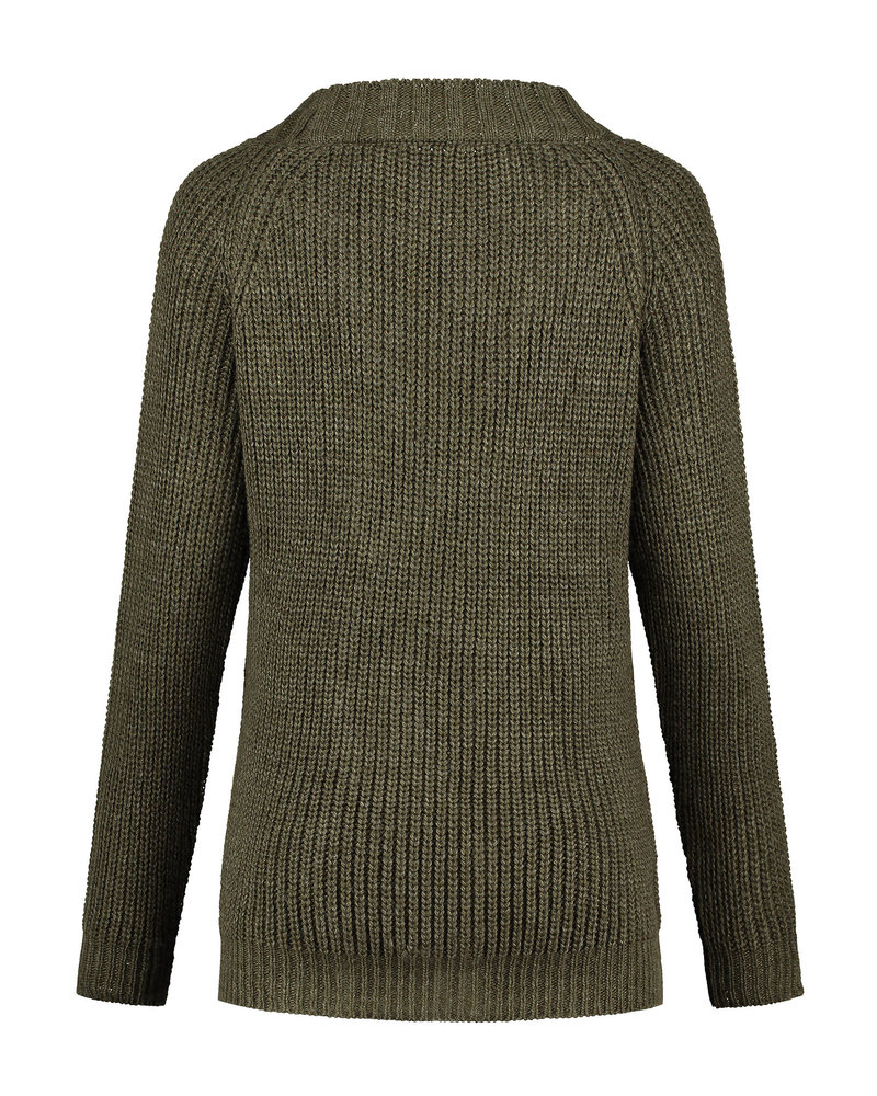 LOVE2WAIT Sweater Cable-Green