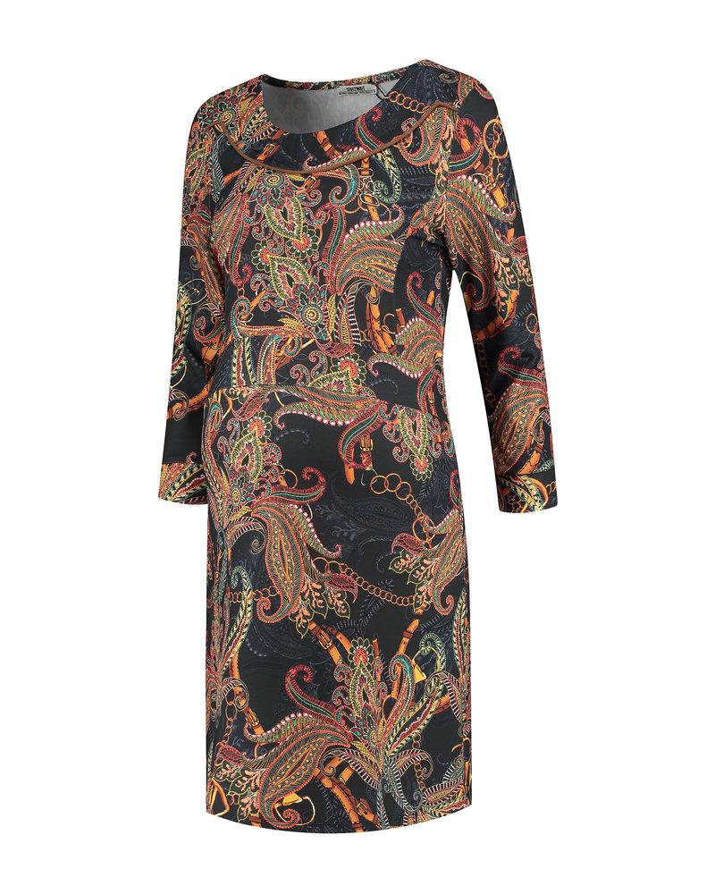 LOVE2WAIT Dress AOP Paisley-Dessin