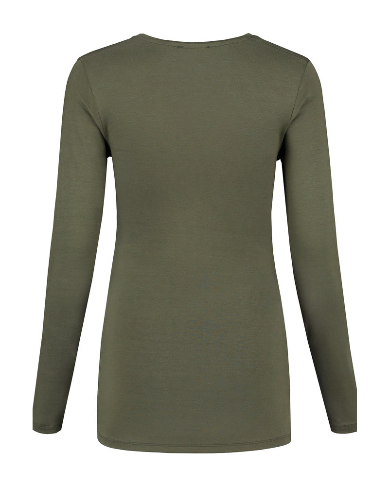 LOVE2WAIT Shirt l. sl. Worth the Wait-Green