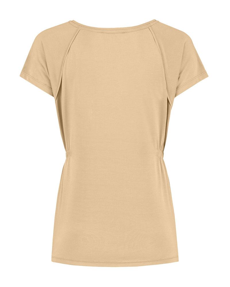 LOVE2WAIT Shirt sh. sl. Cupro-Camel