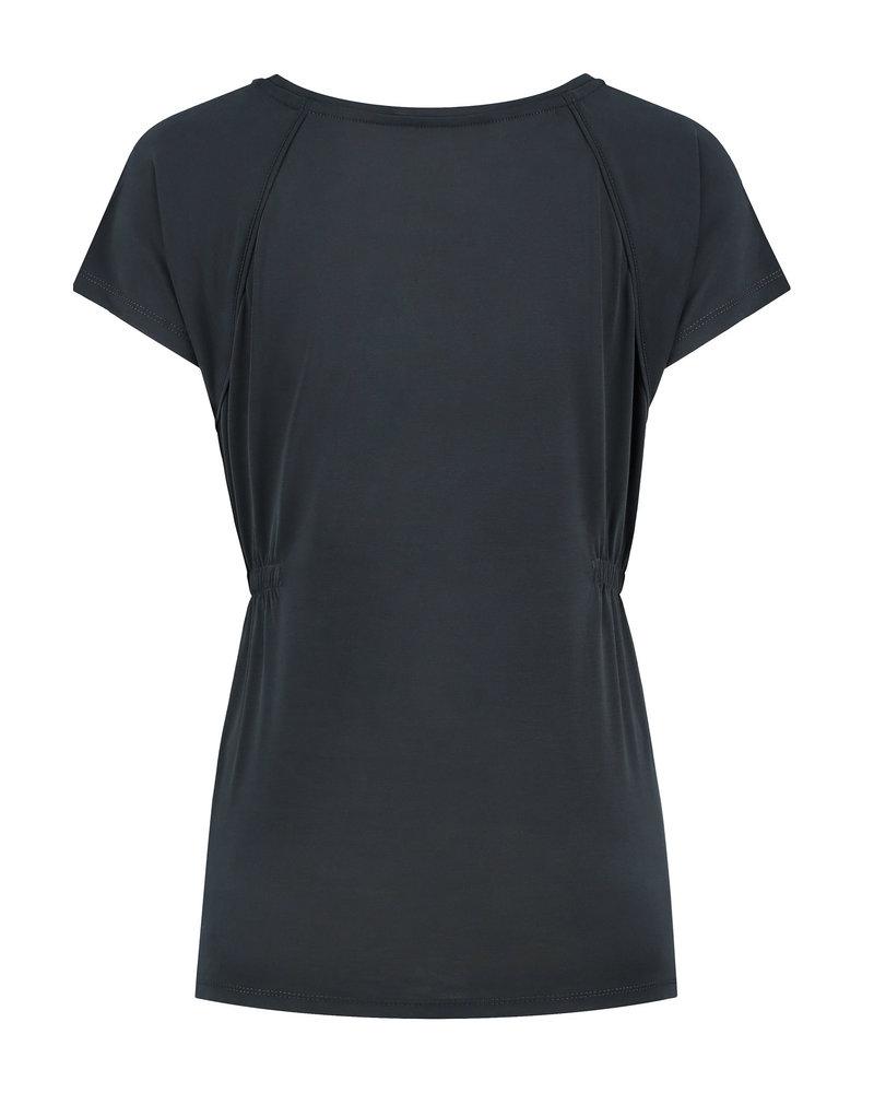 LOVE2WAIT Shirt sh. sl. Cupro-Charcoal