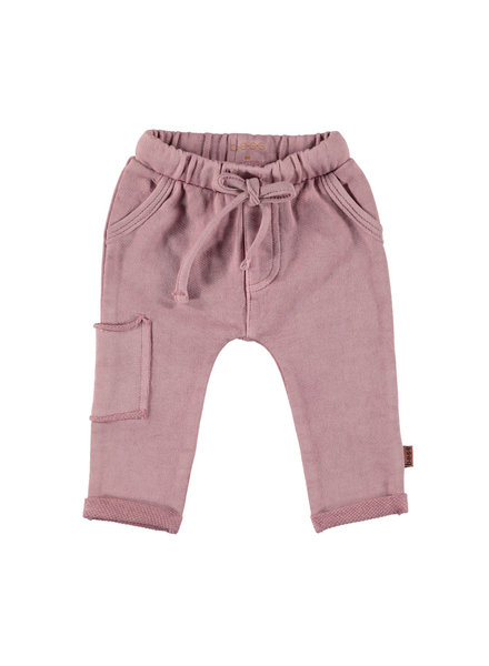 BESS Pants Oilwash-Dusty Rose-19874-038