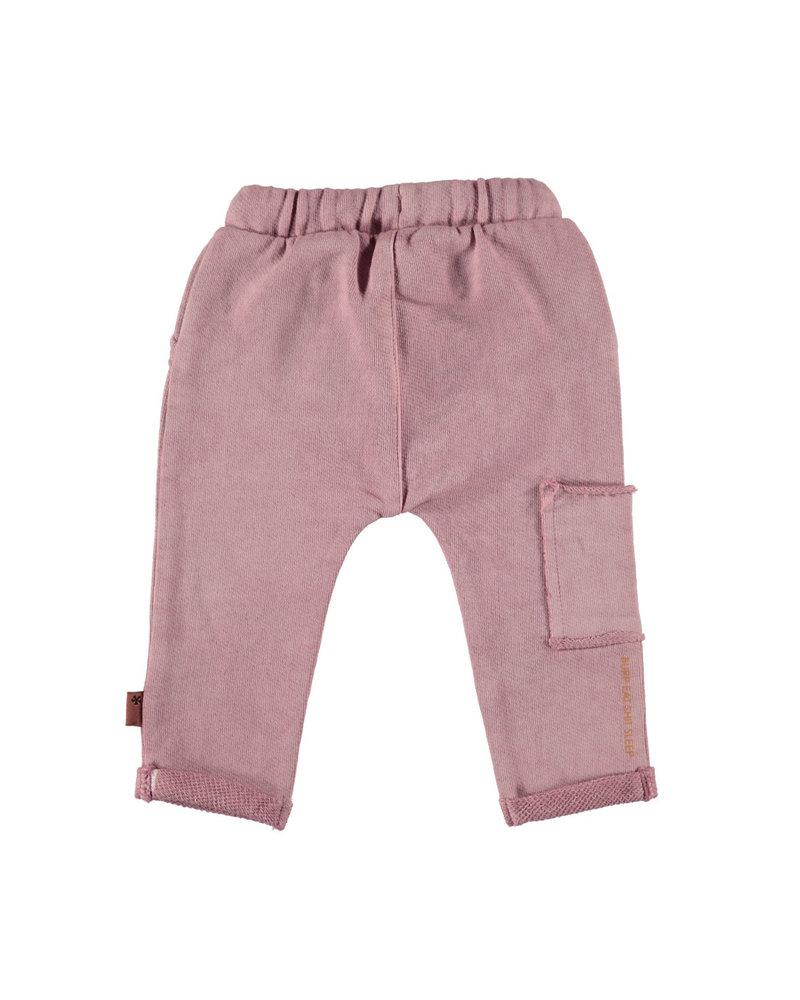 BESS Pants Oilwash-Dusty Rose-19874-038