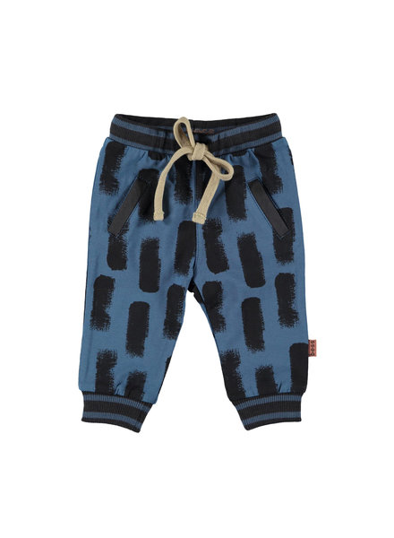 BESS Pants AOP Swipe-Blue-19868-005