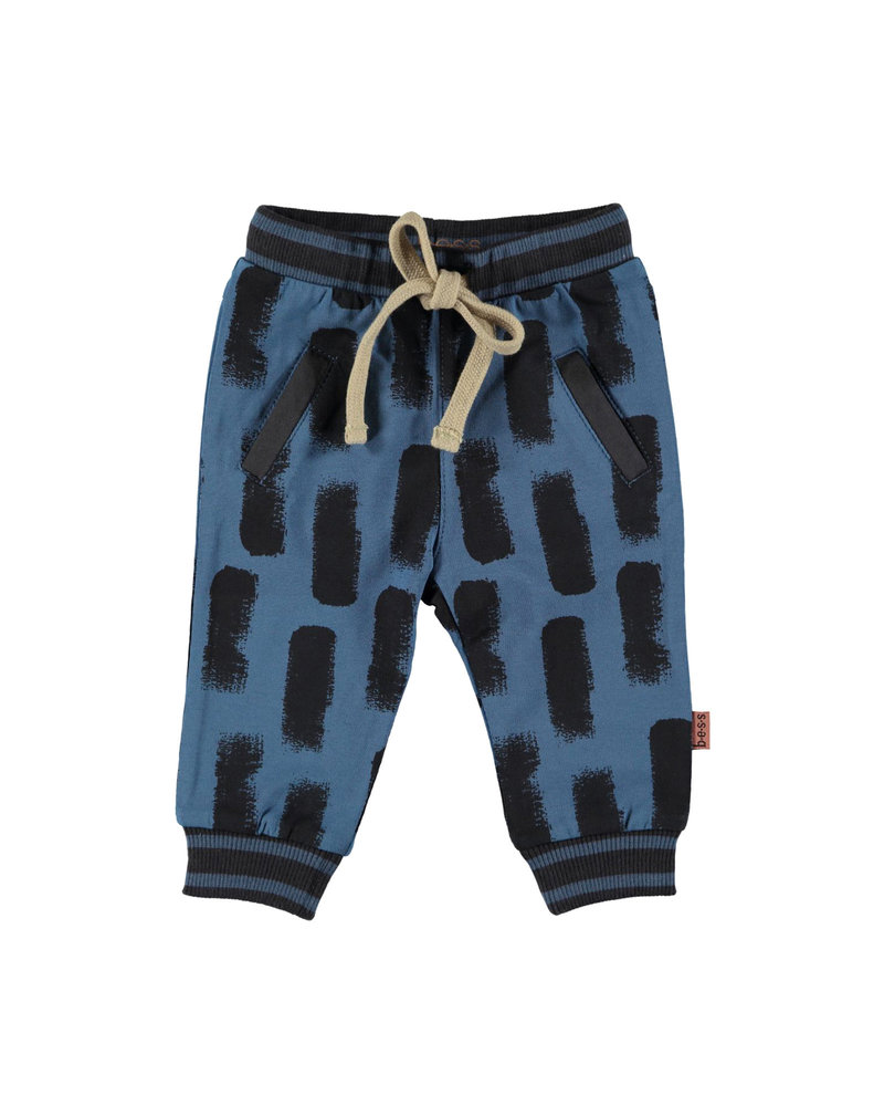 BESS Pants AOP Swipe-Blue-19868-005