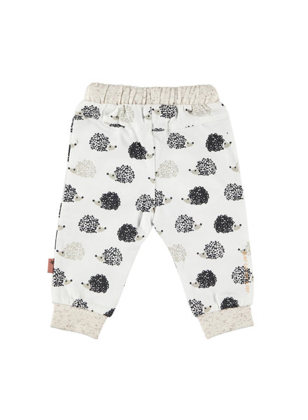 BESS Pants AOP Hedgehog-White-19865-001