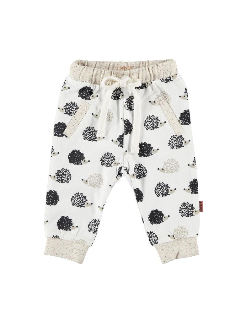 BESS Pants AOP Hedgehog-White-19865-001