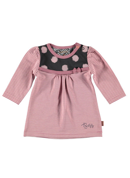 BESS Dress Striped-Pinstripe Pink-19863-037