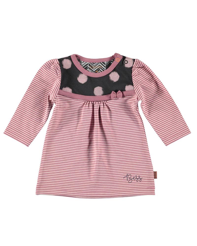 BESS Dress Striped-Pinstripe Pink-19863-037