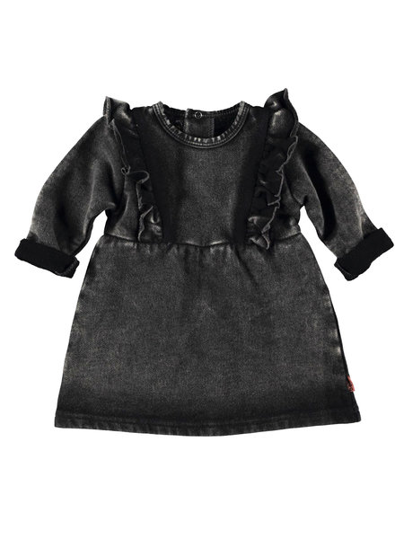BESS Dress Jogdenim-Black Denim-19862-024