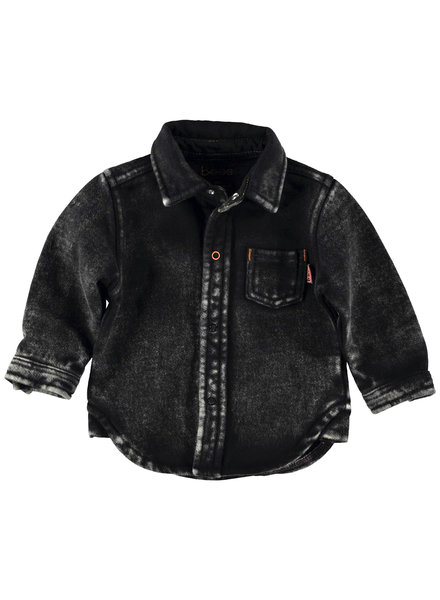 BESS Blouse Jogdenim-Black Denim-19848-024