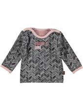 BESS Shirt l.sl. Herringbone Daddy's Girl-White-19854-016