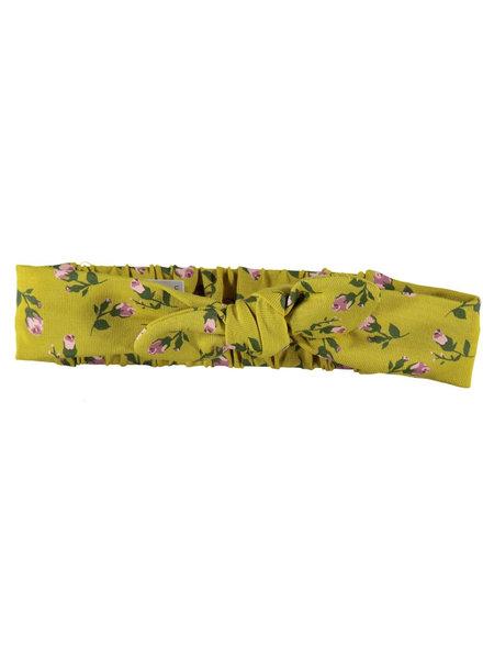 BESS Headband Romantic Flowers-Ocre-19835-039