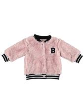 BESS Cardigan Teddy-Pink-19831-007
