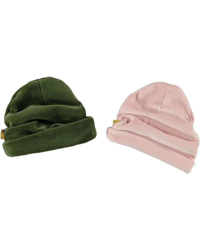 BESS Hat Velvet-Olive-19833-054