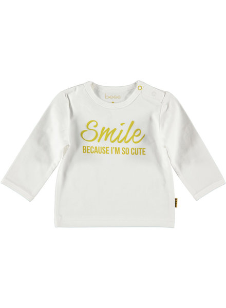 BESS Shirt l.sl. Smile-White-19801-001