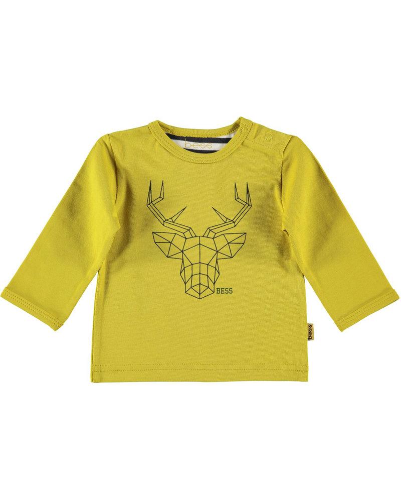 BESS Shirt l.sl. Deer-Ocre-19802-039