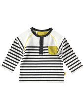BESS Shirt l.sl. Striped-White-19803-001