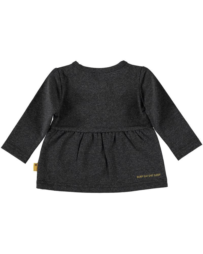 BESS Shirt l.sl. Roses-Anthracite-19808-003