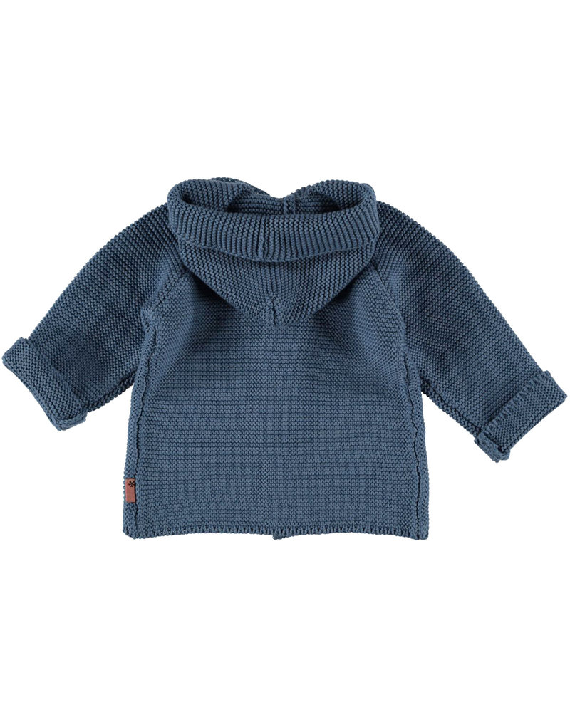 BESS Cardigan Knitted-Blue-19879-005