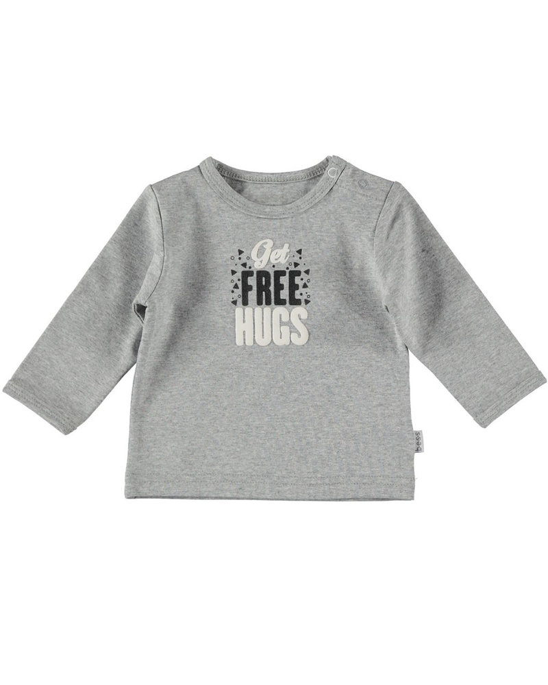 BESS Shirt l.sl. It's Free Hugs Day