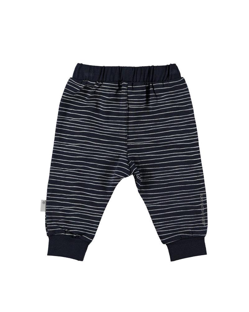 BESS Pants Pinstripe Blue