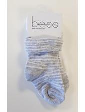 BESS Socks 2-pack Pinstripe