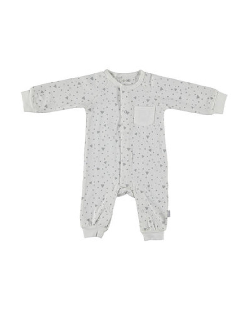 BESS Suit Triangle White